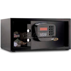 MHRC916E-BLK Mesa Safe Dorm and Hotel Safe Electronic Lock MHRC916E-BLK Keyed Differently, 18 x 15 x 9 Black