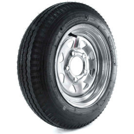 kenda loadstar trailer tire dm412b-5g-i - 5-hole galvanized spoke wheel (5/4.5) - 4.80-12 lrb Kenda Loadstar Trailer Tire DM412B-5G-I - 5-Hole Galvanized Spoke Wheel (5/4.5) - 4.80-12 LRB