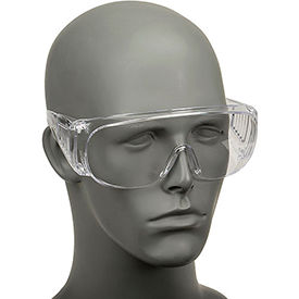 817691 Economical Clear Safety Glasses, Safety Works 817691