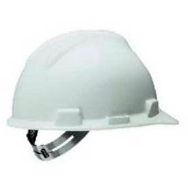 SWX00344 Safety Works; Adjustable Suspension Hard Hat, Pin Lock, White, SWX00344