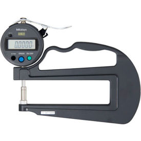 "547-520S Mitutoyo 547-520S 0-.47"" / 0-12MM Digimatic Deep Throat Digital Thickness Gage (.0005 Resolution)"