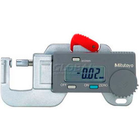 "700-118-30 Mitutoyo 700-118 0-.50"" / 0-12.7MM Digimatic Compact  Digital Thickness Gage"