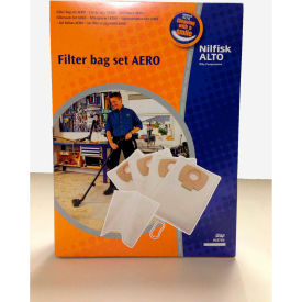 302002404 Nilfisk Replacement Dust Bags For Aero Series