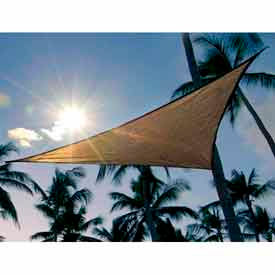 25720 12 Feet Triangle ShadeSail - Sand