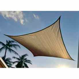 25723 16 Foot Square ShadeSail - Sand