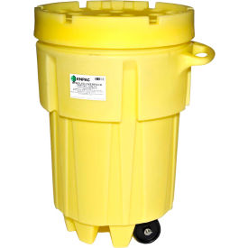 1299-YE ENPAC; 1299-YE Wheeled Poly-Overpack; Salvage Drum - 95 Gallon Capacity