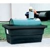 "5275-BK-D ENPAC; Poly-Tank Containment Unit with Drain - 82-3/8""L x 45""W x 35-3/8""H - 275 Gallon Cap."