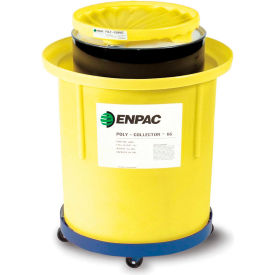 8002-YE ENPAC; 8002-YE Portable Poly-Collector; with Poly Drum - 66 Gallon Capacity