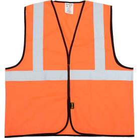ECO-G-O2/3X Class 2 Solid Vest, Hi-Vis Orange 2XL/3XL