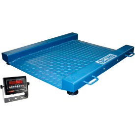 "OP-917-PT-REC-1000LED. Optima 917 Series Low Profile Portable Drum Digital Scale 24-1/2"" x 30"" 1,000lb x 0.2lb"