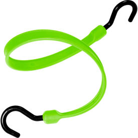 "the better bungee™ bbs36nsg 36"" bungee strap with over molded nylon ends - safety green The Better Bungee™ BBS36NSG 36"" Bungee Strap with Over Molded Nylon Ends - Safety Green"
