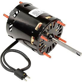 "D1126 Fasco D1126, 3.3"" Shaded Pole Open Motor - 230 Volts 1550 RPM"