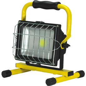 ProLight® 411030 LED Slim Series Flood Light, 30W w/Floor Stand