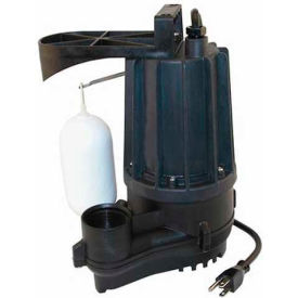72-0001 Zoeller M72 Automatic Aqua-mate Submersible Sump Pump 72-0001, 1/2 HP