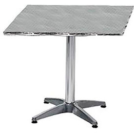 LR2424CMX Premier Hospitality Square 24x24 Stainless Steel Table