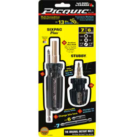 88911 Picquic; 88911 Dynamic Duo Combo Pack Multi-Bit Driver Black