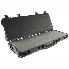 "1720-000-110 Pelican 1720 Watertight Rifle Case With Foam 42"" x 16"" x 6-1/8"", Black"
