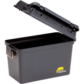 "161298 Plano Molding 1612-98 Field Box Large Without Tray/Gasket 15""L x 8""W x 10""H, Black"