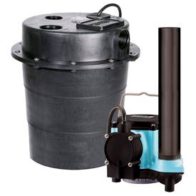 "506055 Little Giant 506055 WRS Series 1/3HP Water Removal System - 115V- Integral- 7-10"" On Level"