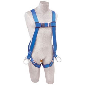 AB17520 FIRST; AB17520 Vest-Style Positioning Harness, Back & Side D-Rings, Pass-thru Buckle Leg Straps