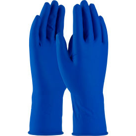 "62-327PF/S PIP Ambi-Thix; 62-327PF Medical/Exam Latex Gloves, 11-1/2""L, Powder-Free, Blue, S, 50/Box"