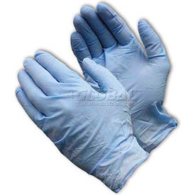 63-336/L PIP Ambi-Dex; 63-336 Industrial Grade Disposable Nitrile Gloves, Powdered, Blue, L, 100/Box