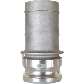 "90.394.300 3"" Aluminum Camlock Fitting - Male Barb x Male Coupler Thread"