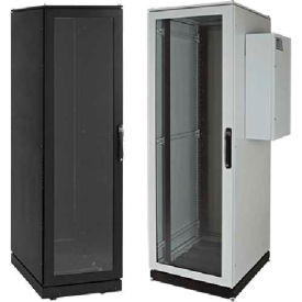 Hoffman PDCP2078GAC PROLINE™ Server Cab, Type 12, AC Ready, 82.10x27.87x31.46in, Steel/Gray
