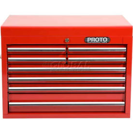"J542719-8RD  Proto J442719-8RD 540S 27"" Top Chest - 8 Drawer, Red, 27""L X 19""H X 18""D"