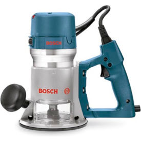 1618EVS BOSCH; 2.25 HP Fixed Base Electronic D-Handle Router