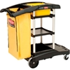 FG9T7200BLA Rubbermaid; High Capacity Cleaning Cart 9T72