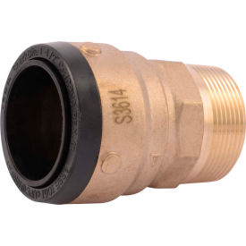 SB114140M SharkBite SB114140M Connector Male, 1-1/2in x 1-1/2in MNPT