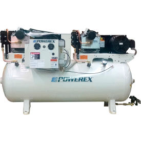 powerex std050332 10 hp oil-less scroll compressor 80 gallon horizontal 116 psi 3 phase 230v Powerex STD050332 10 HP Oil-less Scroll Compressor 80 Gallon Horizontal 116 PSI 3 Phase 230V