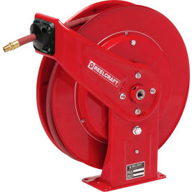 "7670 OLP Reelcraft 7670 OLP 3/8""x70 300 PSI Heavy Duty Spring Retractable Low Pressure Hose Reel"