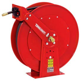 "PW81000 OHP Reelcraft PW81000 OHP 3/8""x100 4500 PSI Spring Retractable Pressure Wash Hose Reel"