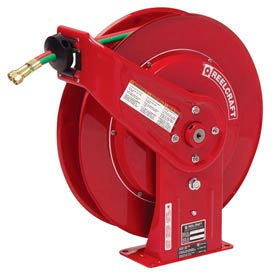 "TW7460 OLP Reelcraft TW7460 OLP 1/4""x 60 200 PSI Spring Retractable Welding Cable Reel"
