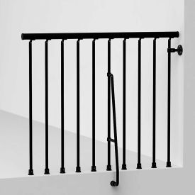 "arke civik balcony rail kit 47"" black Arke Civik Balcony Rail Kit 47"" Black"