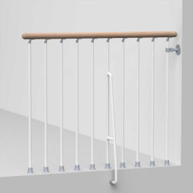 "arke phoenix balcony rail kit 47"" white Arke Phoenix Balcony Rail Kit 47"" White"