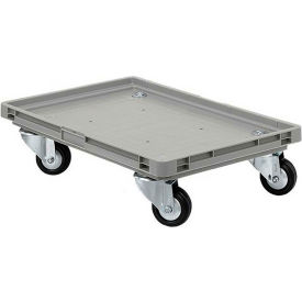 "EFTRLY2416.1GY1 Schaefer Mobile Base for Polypropylene Industrial Containers RO461 - 24""L x 15""W x 5""H - Gray"