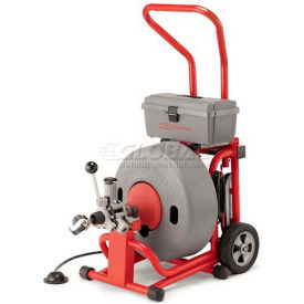 "95732 RIDGID; K-6200 W/Inner Core Cables, 285RPM, 4/10HP, 5.6AMPS, AC, 100L x 5/8""W Cable"