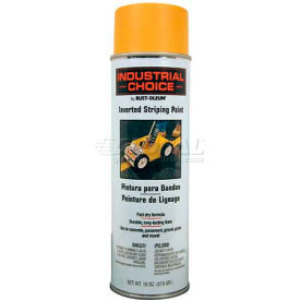 1648838 Rust-Oleum S1600 System Inverted Striping Paint Aerosol, Yellow