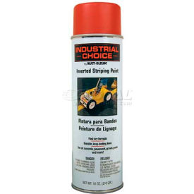 1665838 Rust-Oleum S1600 System Inverted Striping Paint Aerosol, Red