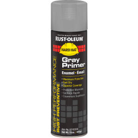 V2182838 Rust-Oleum High Performance V2100 Rust Preventive Enamel Aerosol, Gray Primer, 15 oz. - V2182838
