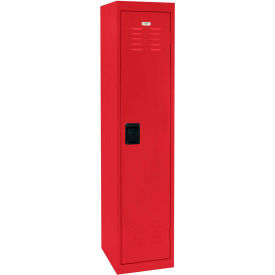 "LF1B151866-01 Sandusky Welded Steel Color Lockers LF1B151866-01 - 15""W x 18""D x 66""H Red"