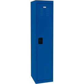 "LF1B151866-06 Sandusky Welded Steel Color Lockers LF1B151866-06 - 15""W x 18""D x 66""H Blue"