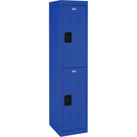 "LF2B151866-06 Sandusky Welded Steel Color Lockers LF2B151866-06 - 15""W x 18""D x 66""H Blue"