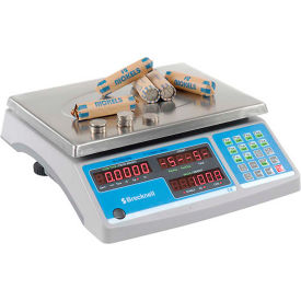 "816965005772 Brecknell Digital Counting & Coin Scale 60lb x 0.002lb, 11-1/2"" x 8-3/4"" Platform"