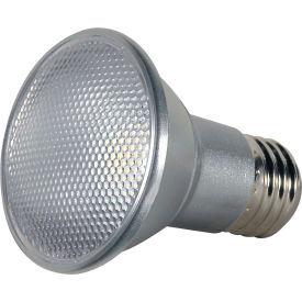 satco s9400 7w par20 led 25 beam spread medium base 2700k dimmable ip65