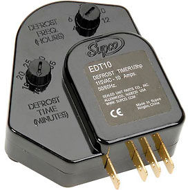 EDT10 Supco EDT10 Adjustable Defrost Control 115 V, 1/3 hp, 10 Amp