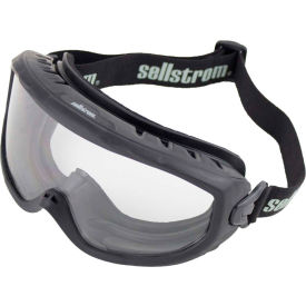 sellstrom® s80225 odyssey fire goggle clear lens, adjustable fr strap